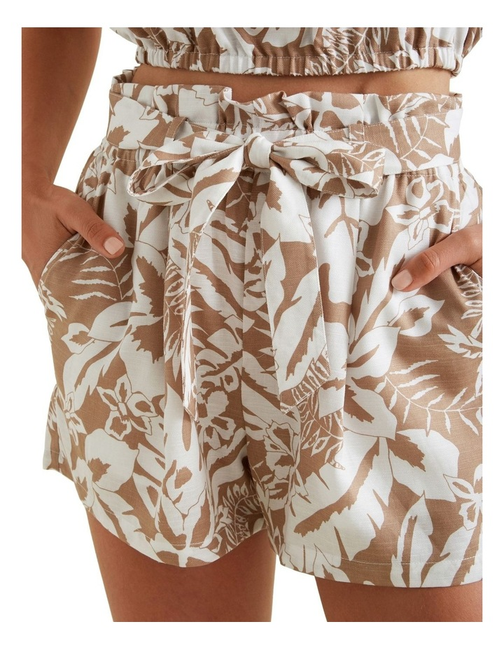 Palm Print Tie Short image 4