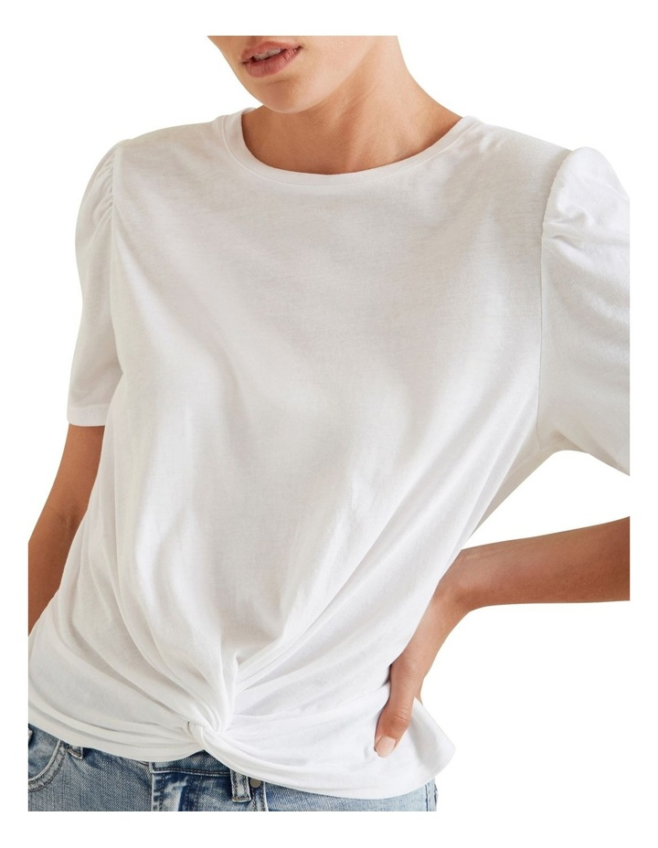 Knot Front Tee image 4