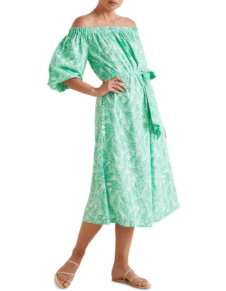 Paisley Off Shoulder Dress image 2