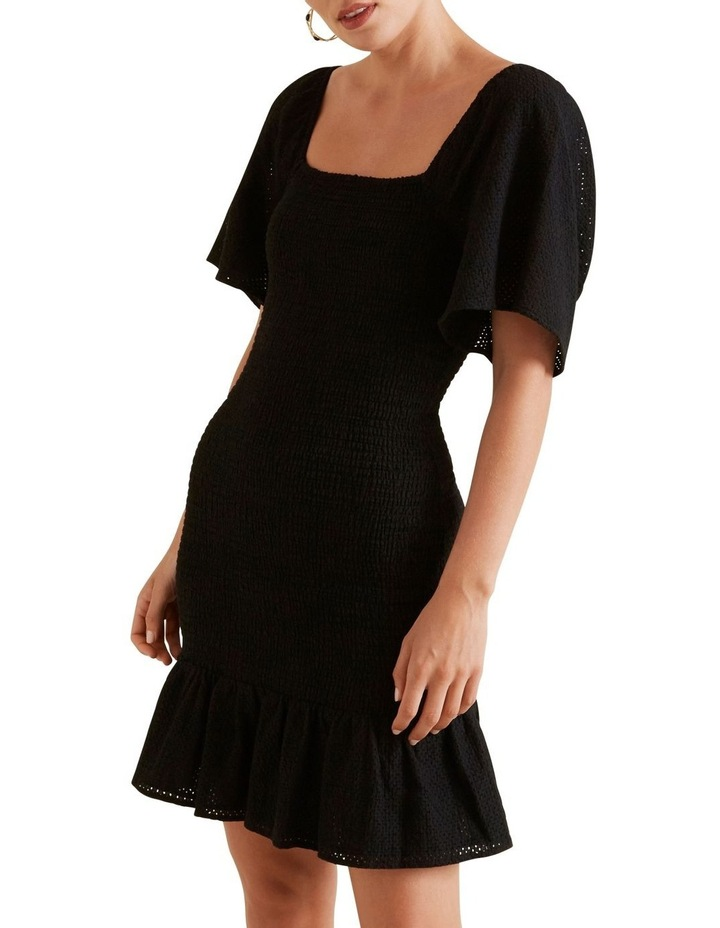 Shirred Broderie Dress image 1