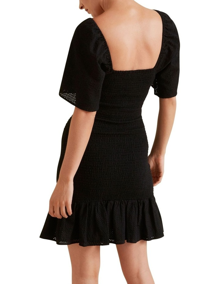 Shirred Broderie Dress image 3