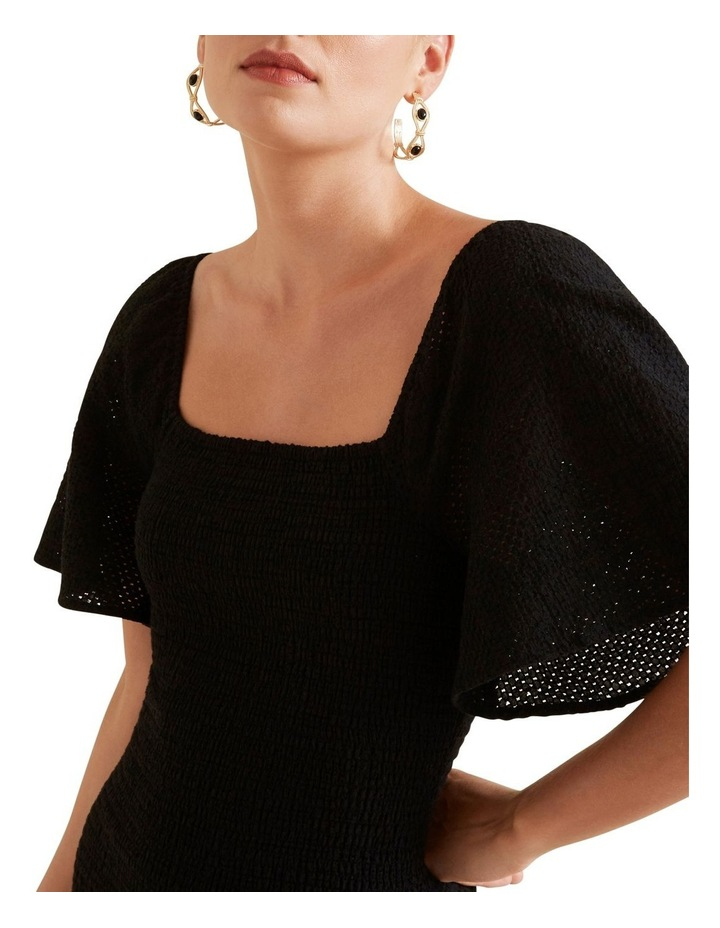 Shirred Broderie Dress image 4
