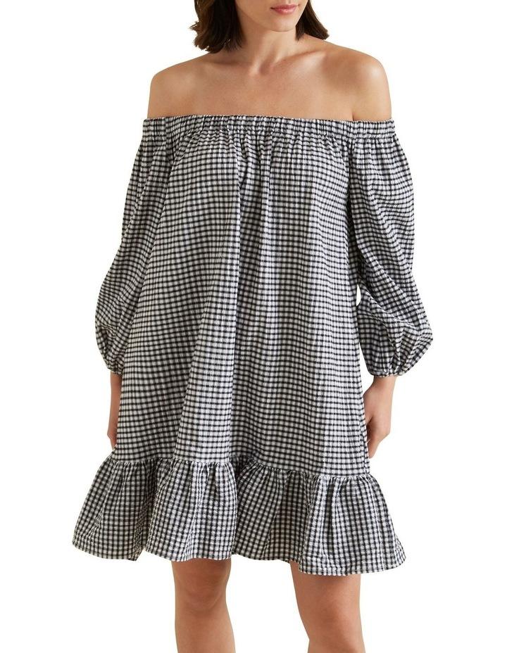 Gingham Mini Dress image 1