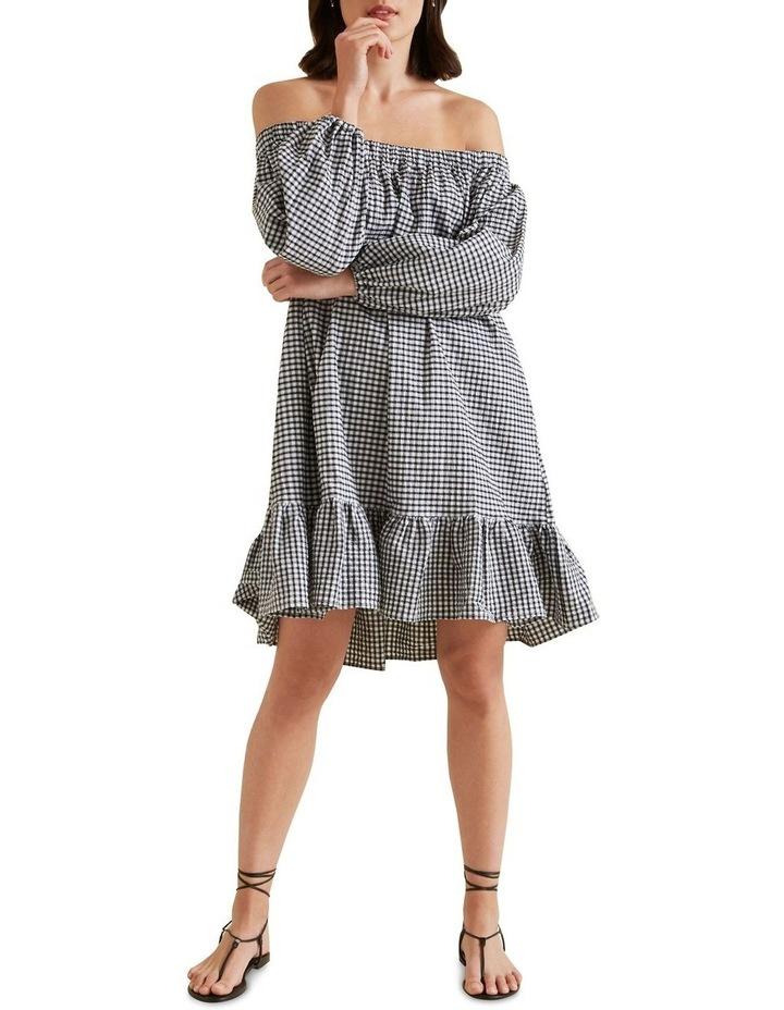 Gingham Mini Dress image 2