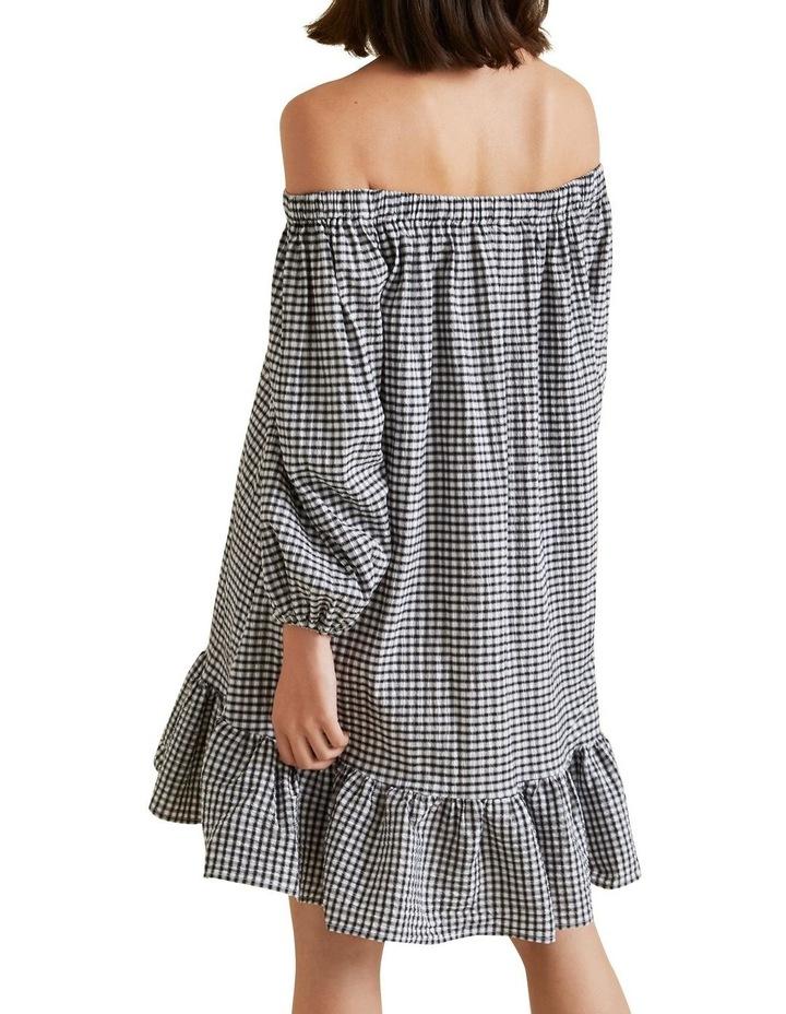 Gingham Mini Dress image 3