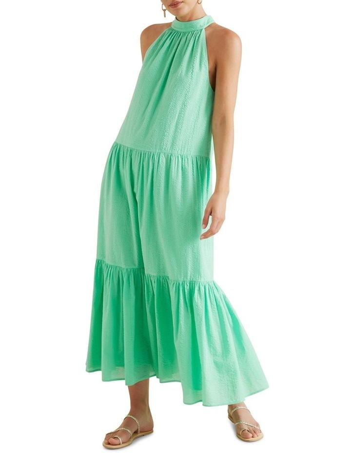 Textured Maxi Dress image 1