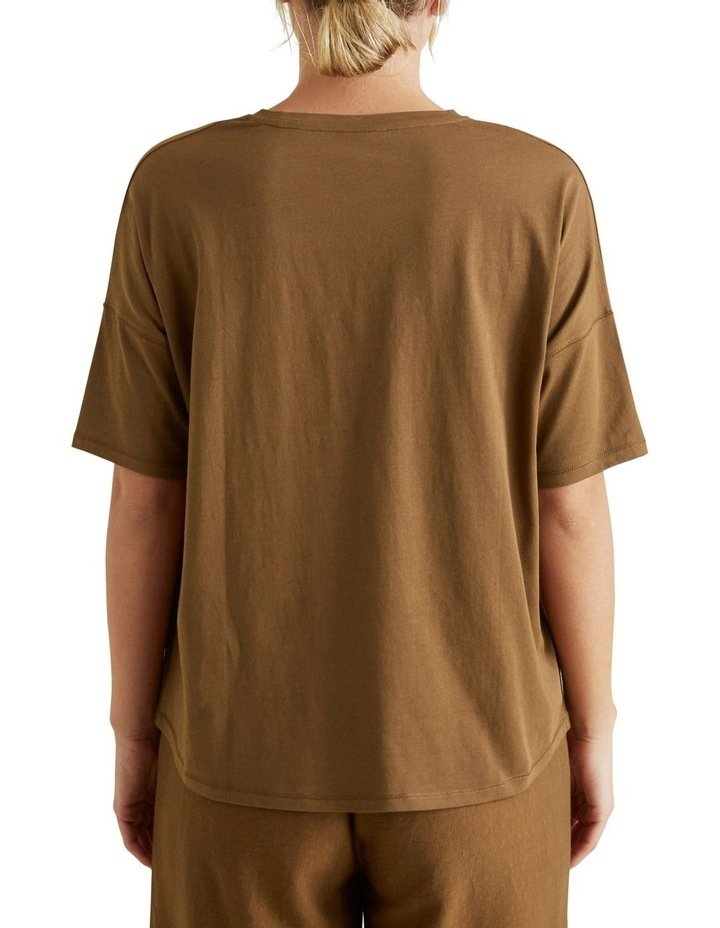 V Neck Easy Tee image 3