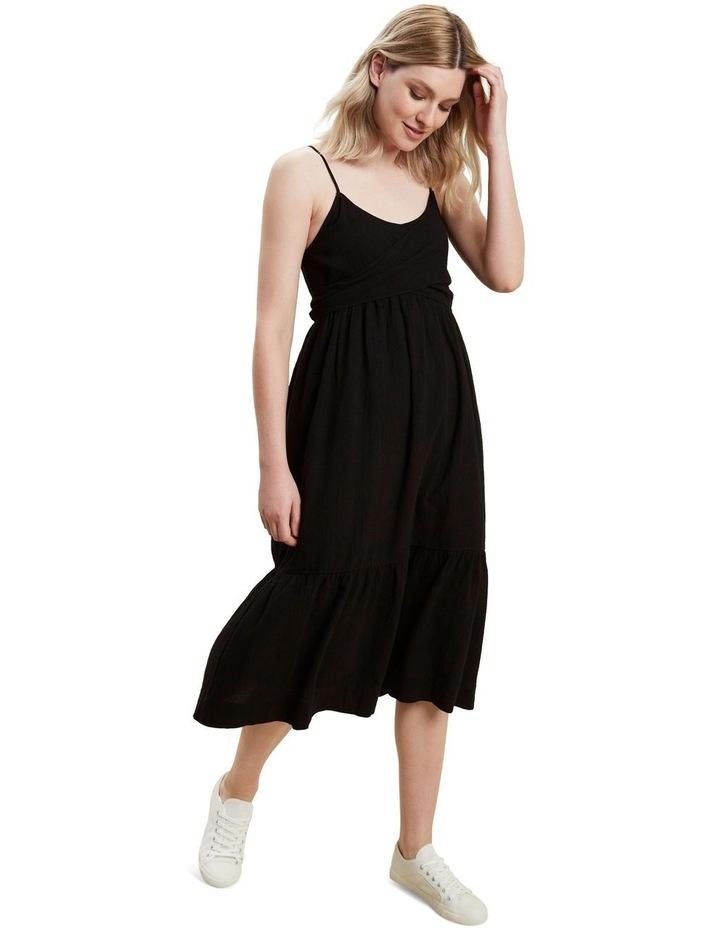 Wrap Front Midi Dress image 1