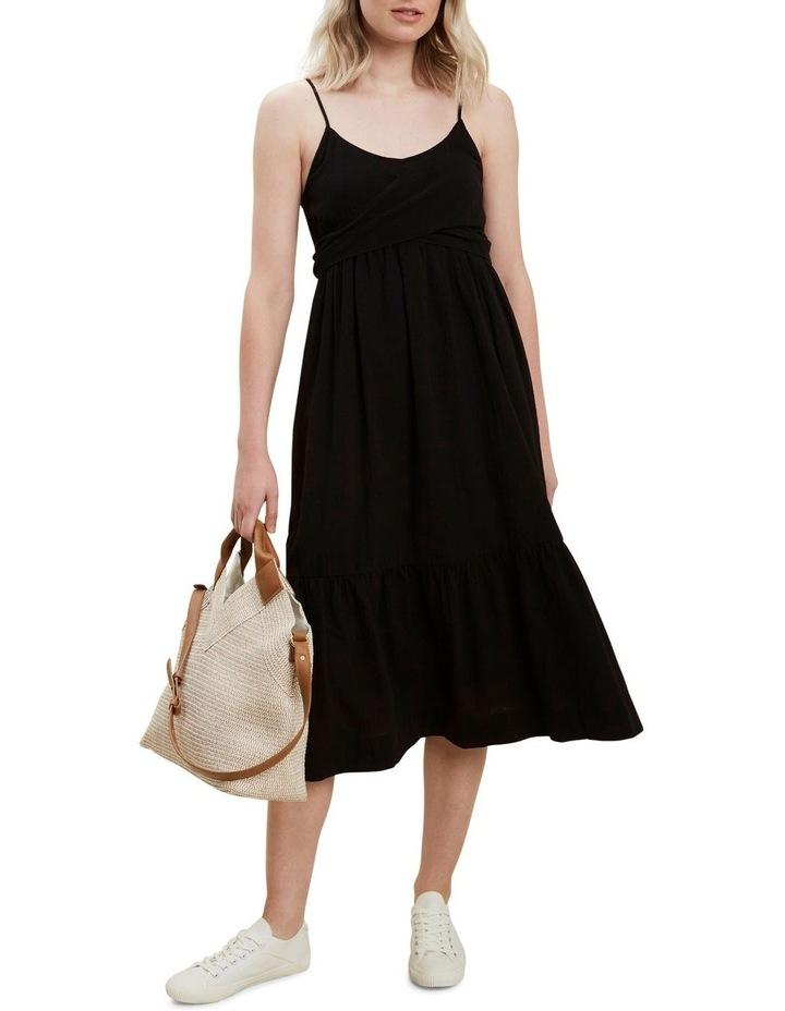 Wrap Front Midi Dress image 2