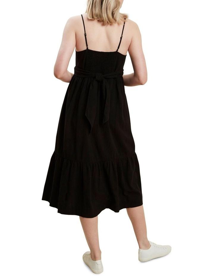 Wrap Front Midi Dress image 3