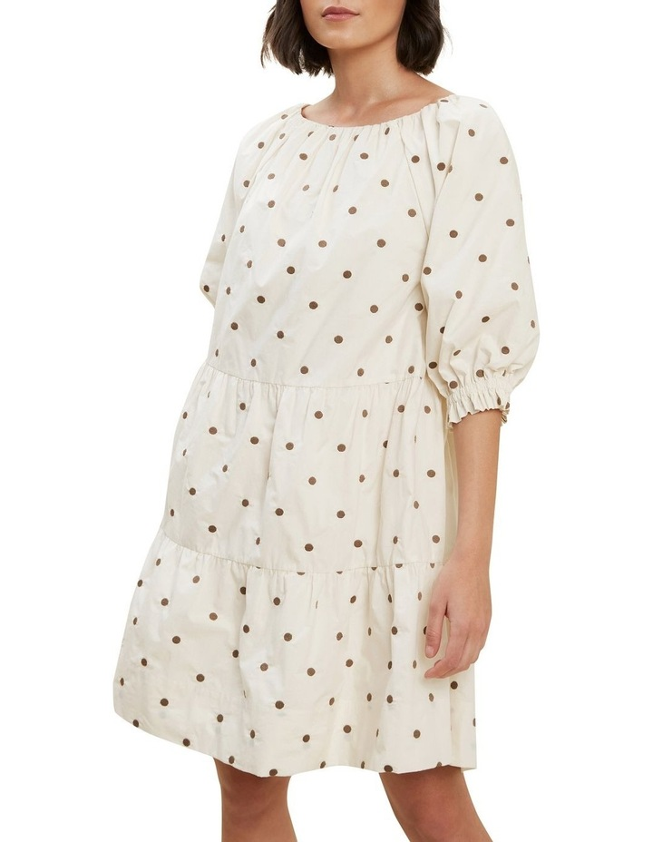 Spot Tiered Dress image 1
