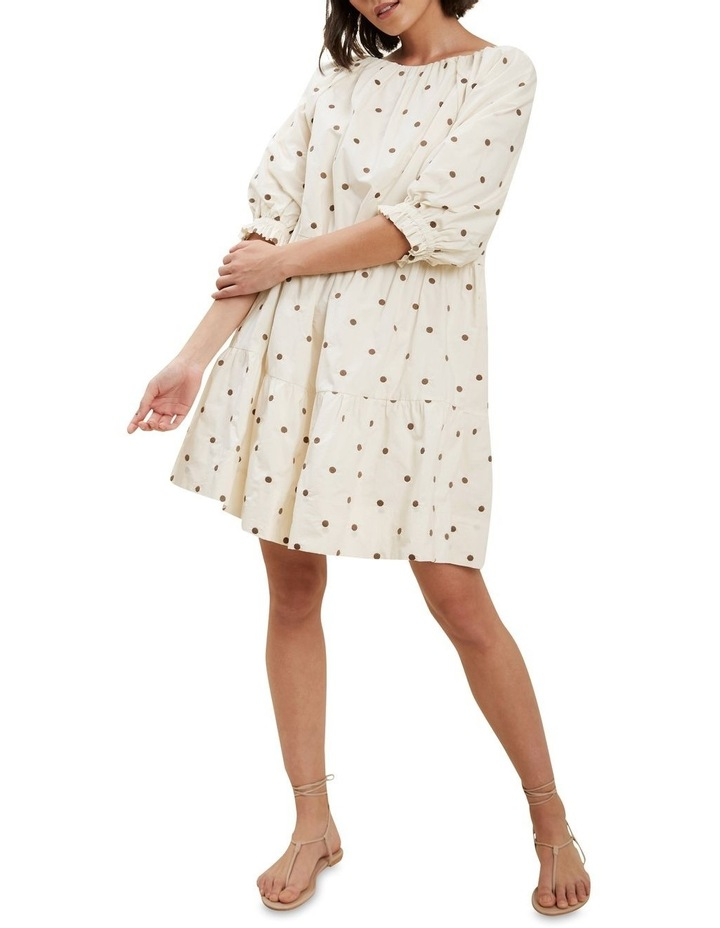 Spot Tiered Dress image 2