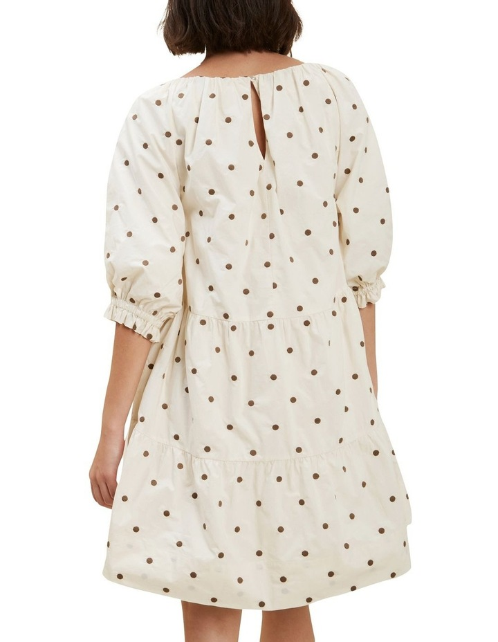 Spot Tiered Dress image 3