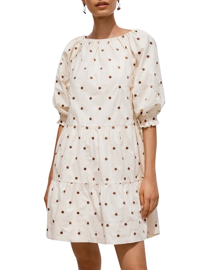 Spot Tiered Dress image 5