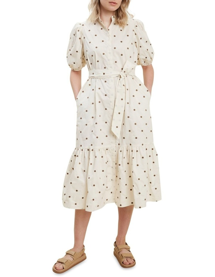Spot Shirt Dress image 1
