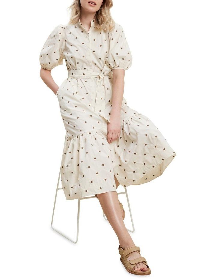 Spot Shirt Dress image 2