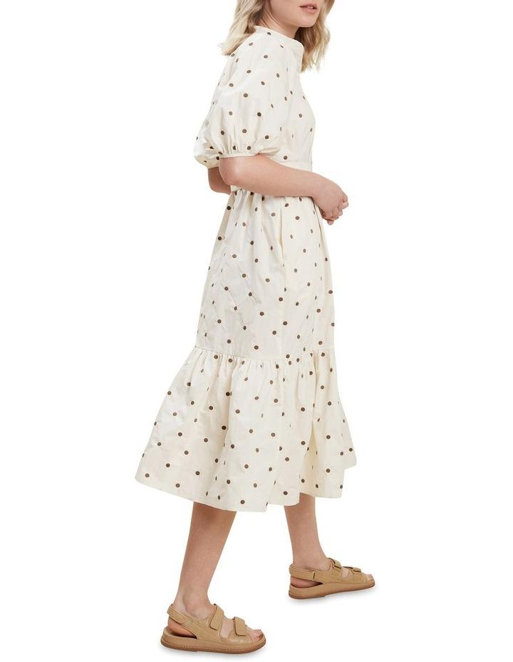 Spot Shirt Dress image 3