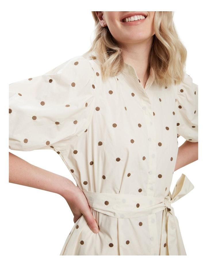 Spot Shirt Dress image 4