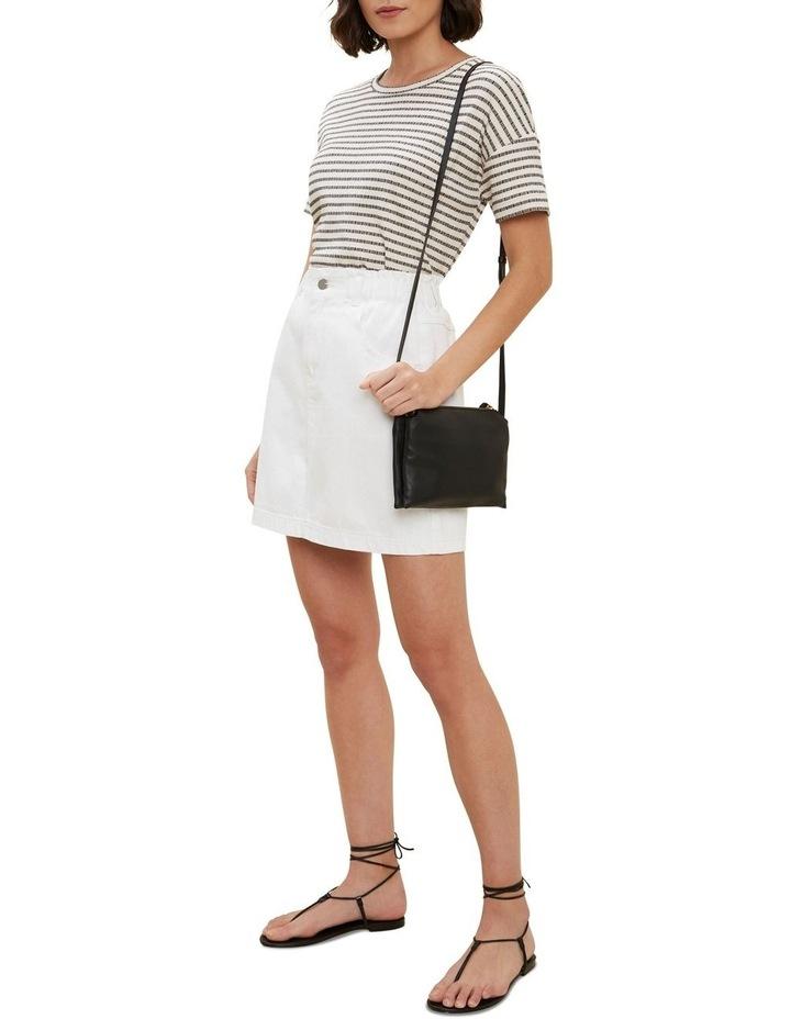 Paperbag Denim Skirt image 2