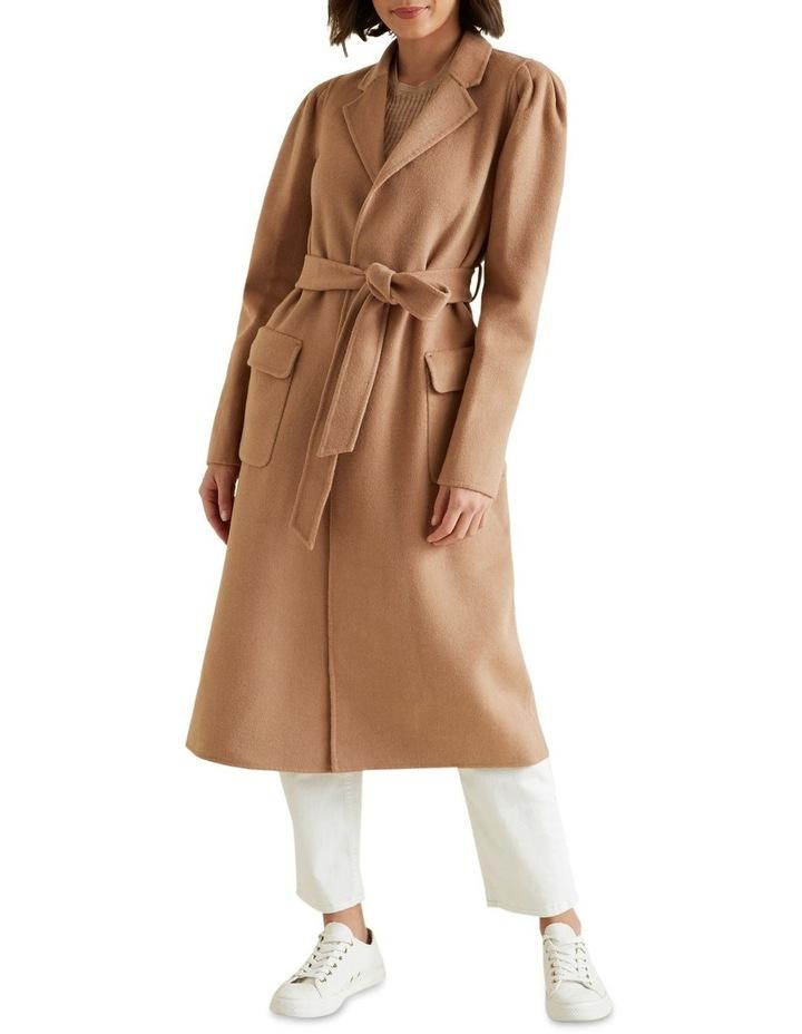 Puff Sleeve Coat image 1