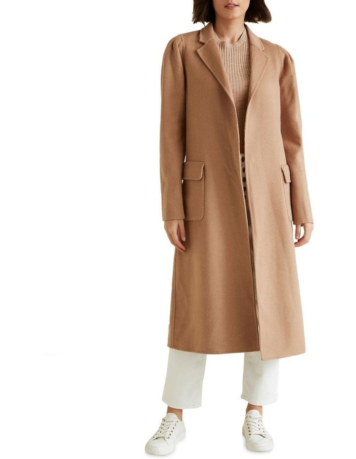 Puff Sleeve Coat image 2