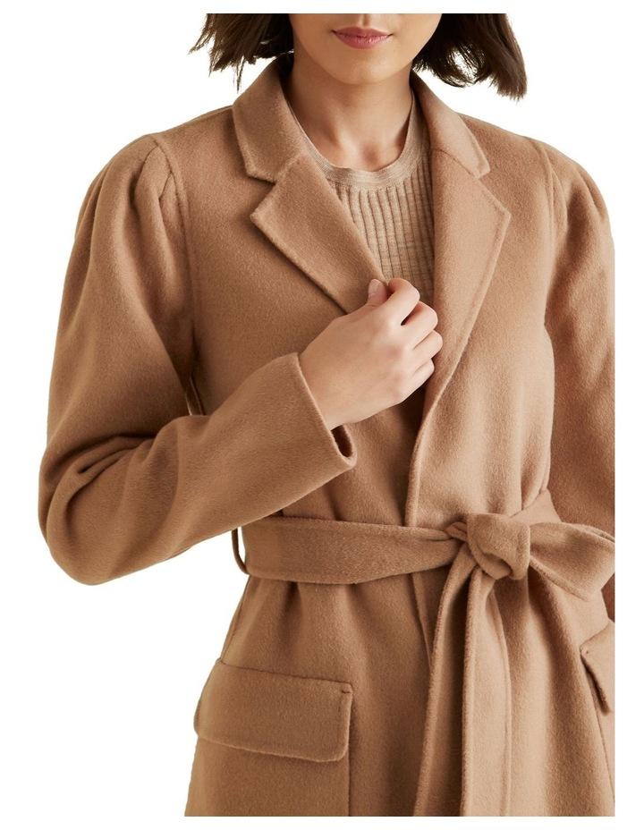 Puff Sleeve Coat image 4