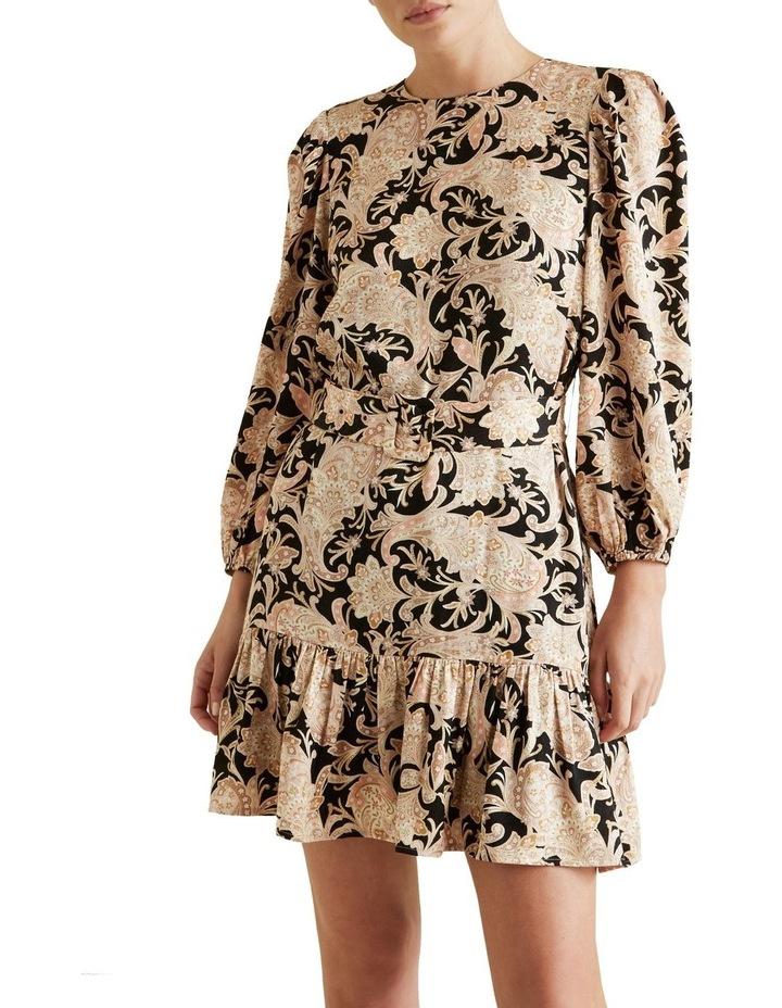 Belted Mini Dress image 1