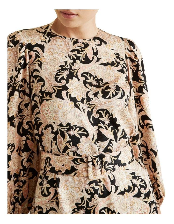 Belted Mini Dress image 4