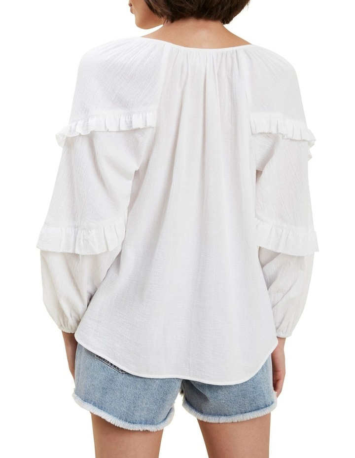 Frill Sleeve Blouse image 3