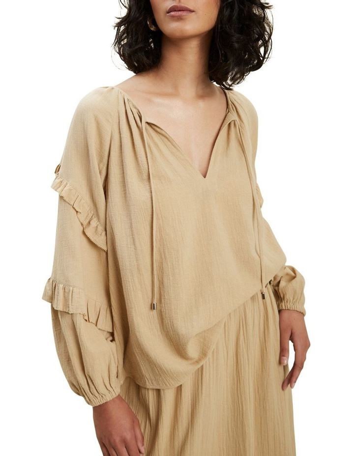 Frill Sleeve Blouse image 1