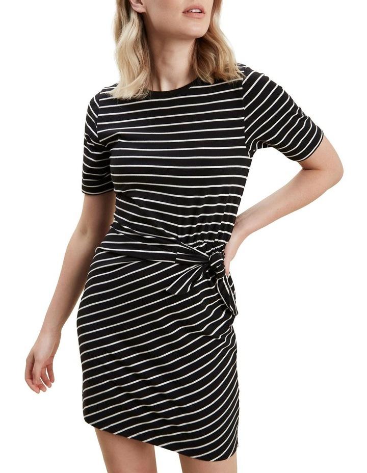 Jersey Mock Tie Dress image 1