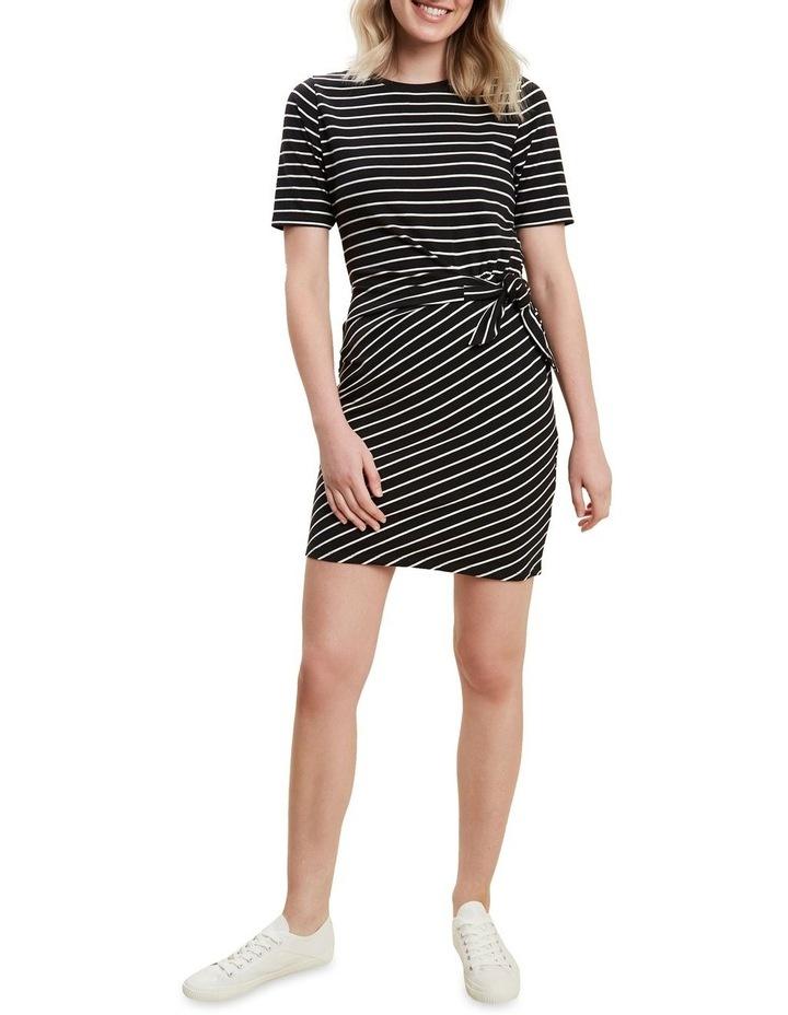 Jersey Mock Tie Dress image 2