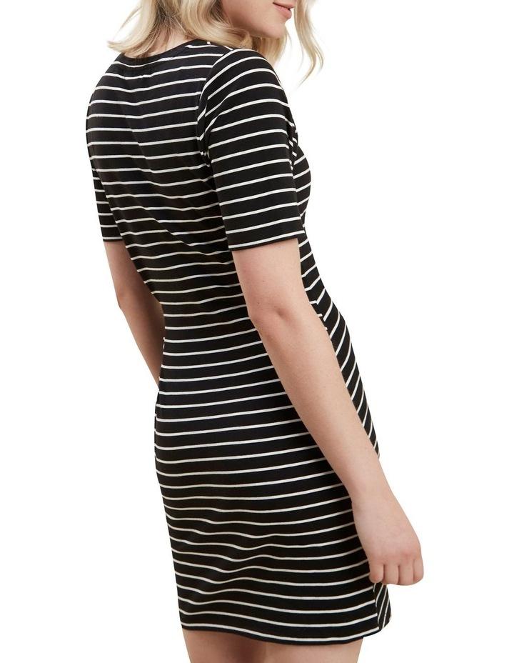 Jersey Mock Tie Dress image 3