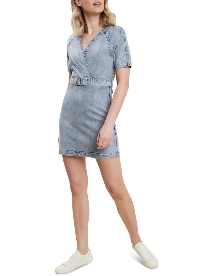 Denim Mini Dress image 2