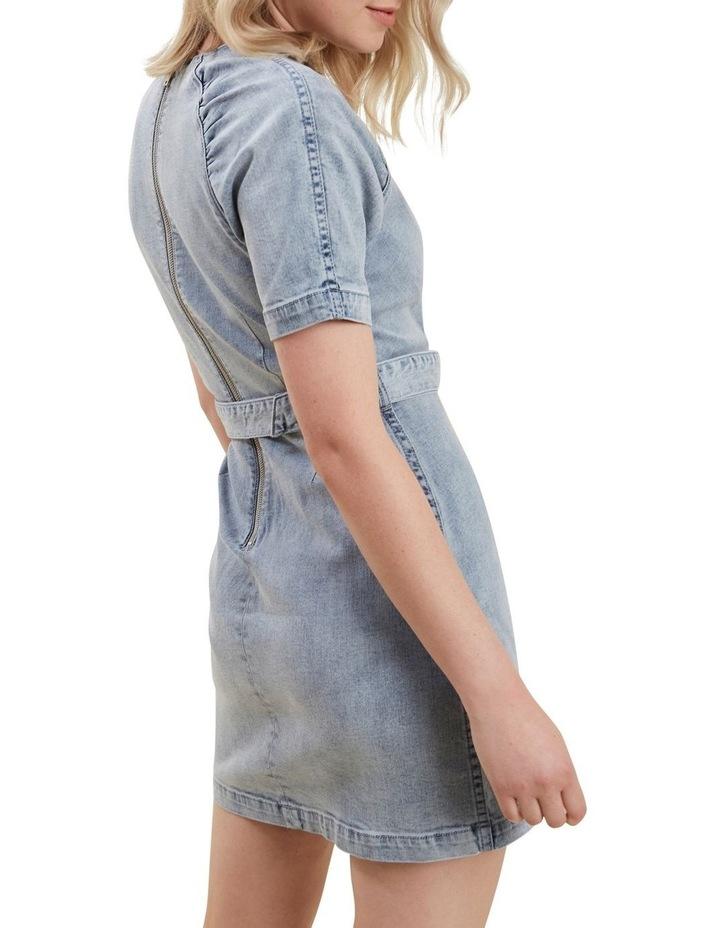 Denim Mini Dress image 3