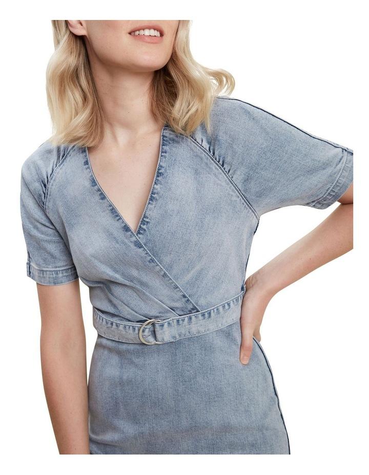 Denim Mini Dress image 4