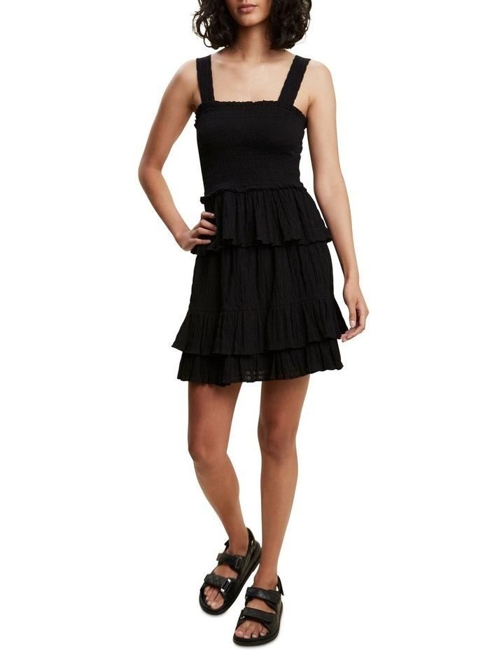 Textured Ruffle Mini Skirt image 2
