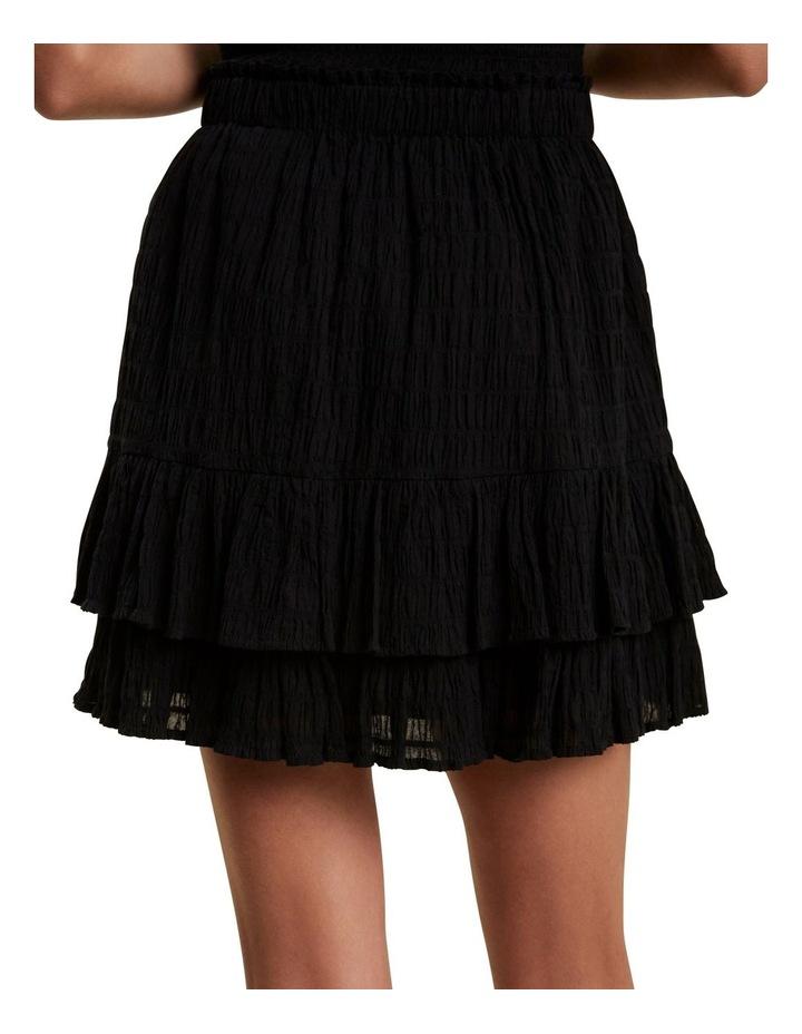 Textured Ruffle Mini Skirt image 3