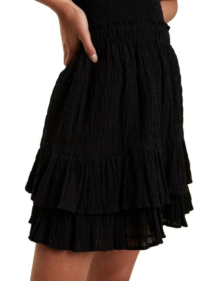 Textured Ruffle Mini Skirt image 4
