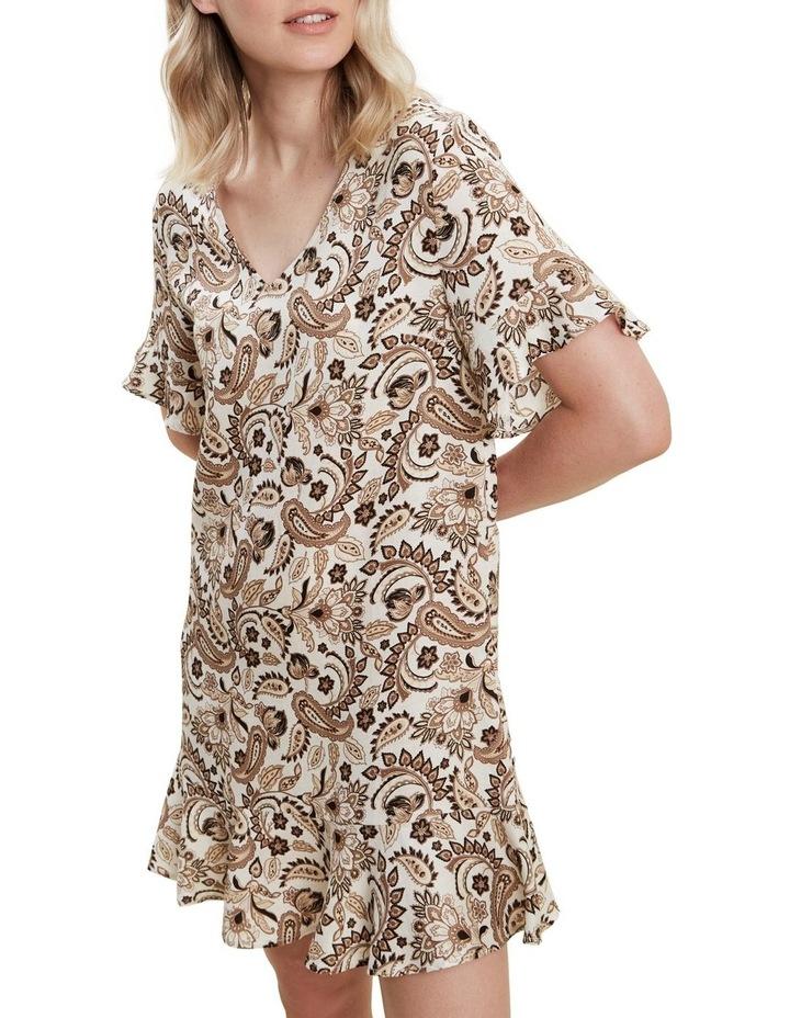 Paisley Flutter Dress image 1