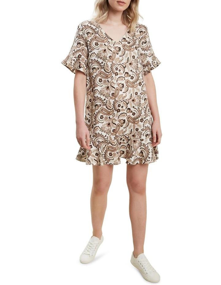 Paisley Flutter Dress image 2