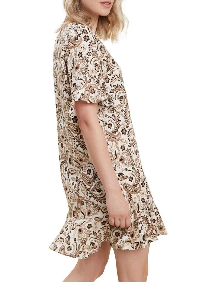 Paisley Flutter Dress image 3