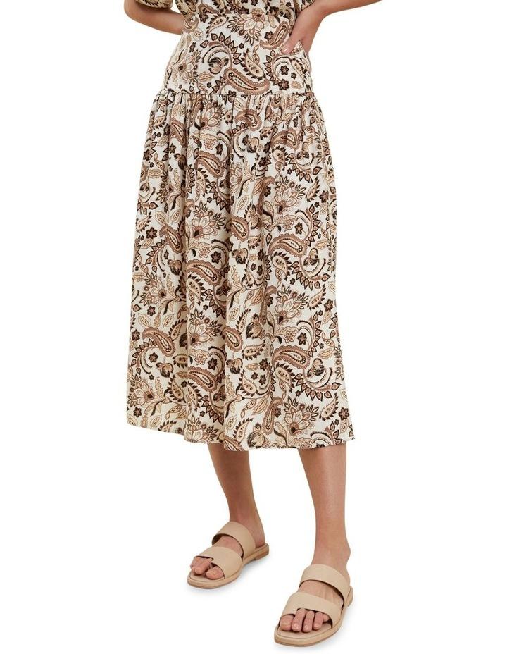 Paisley Midi Skirt image 1