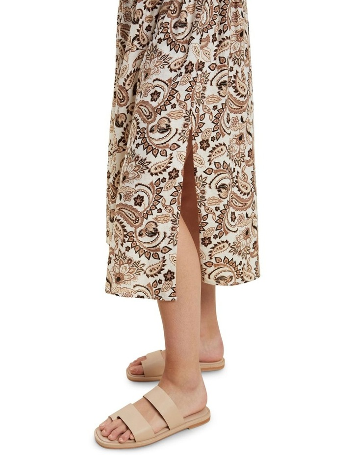 Paisley Midi Skirt image 4