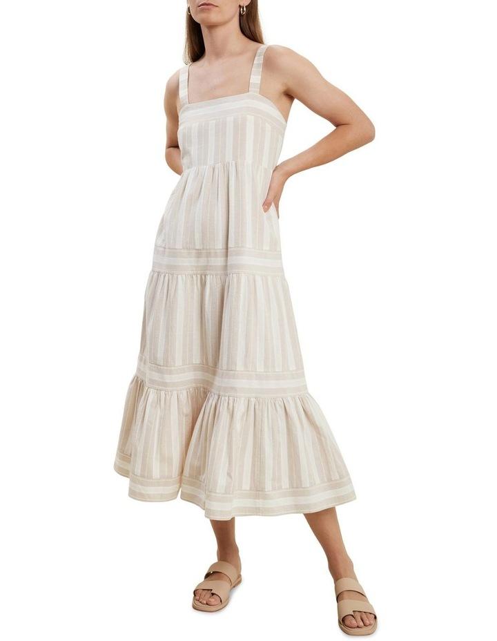 Stripe Midi Dress image 1