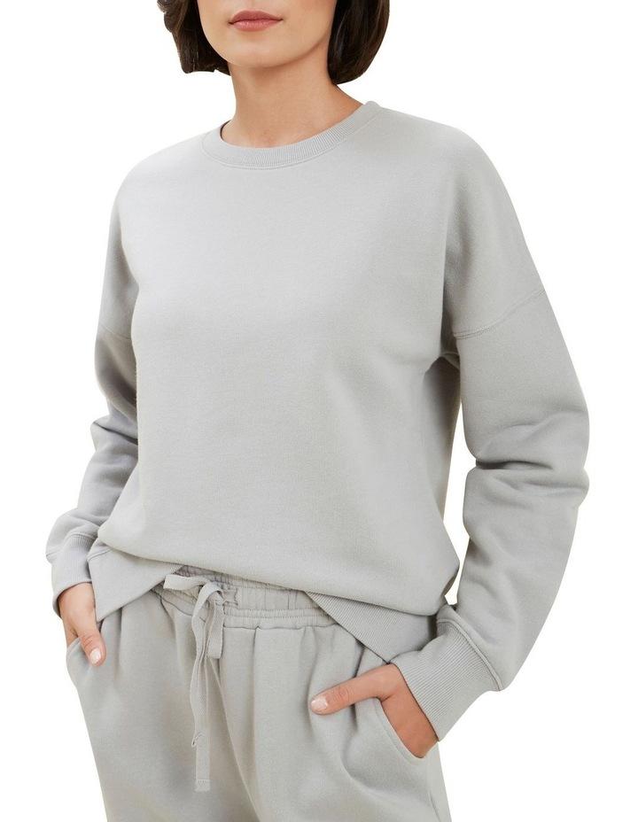 Basic Terry Sweater image 4