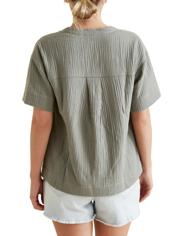 Cheesecloth Relaxed Shirt image 3