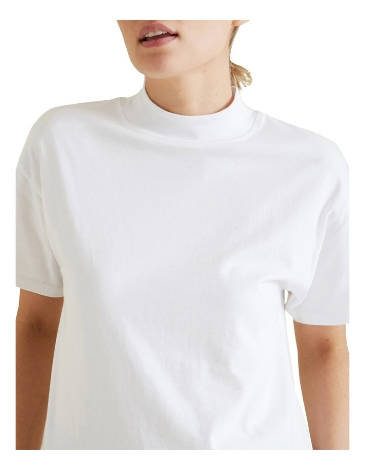 High Neck Jersey Top image 4