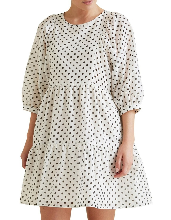 Tiered Spot Dress image 1