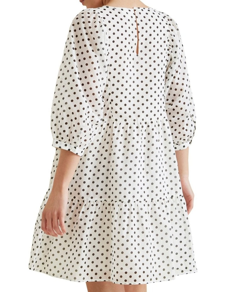 Tiered Spot Dress image 3